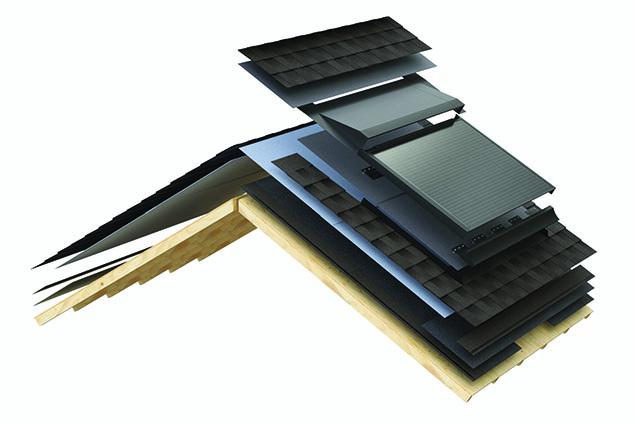 Roof Solar Panels Diagram
